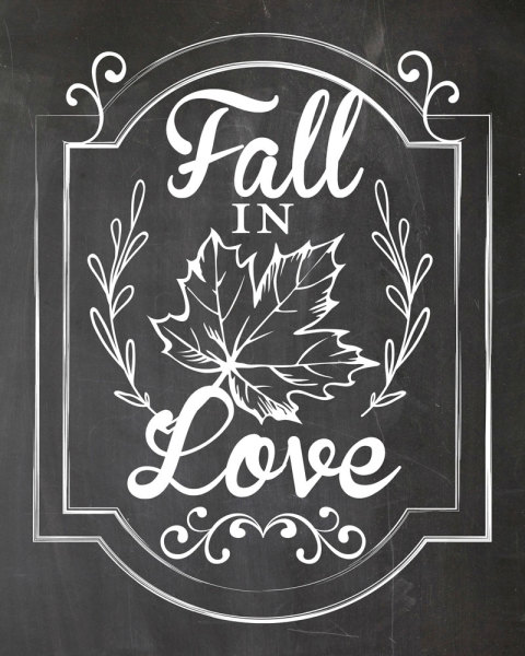 printable, card, print, graphic, chalkboard, art, fall