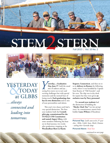 Boat School Newsletter