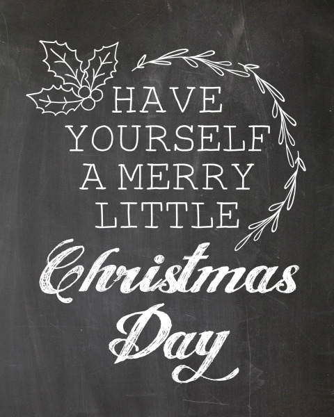 printable, card, print, graphic, chalkboard, art, christmas