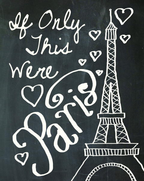 printable, card, print, graphic, chalkboard, art, paris