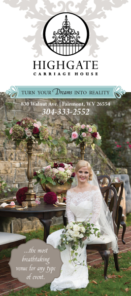 wedding venue, brochure, print, graphic design
