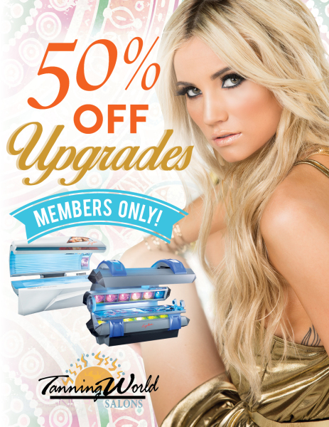 Tanning Promotional Flyer