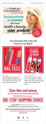 Promotional Product Email