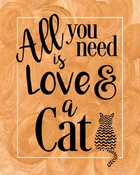 Cat Love Printable