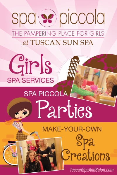 Girls Spa Poster
