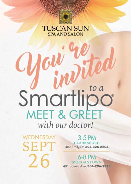 Spa Event Invite