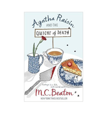 M. C. Beaton - The Quiche of Death Book Review