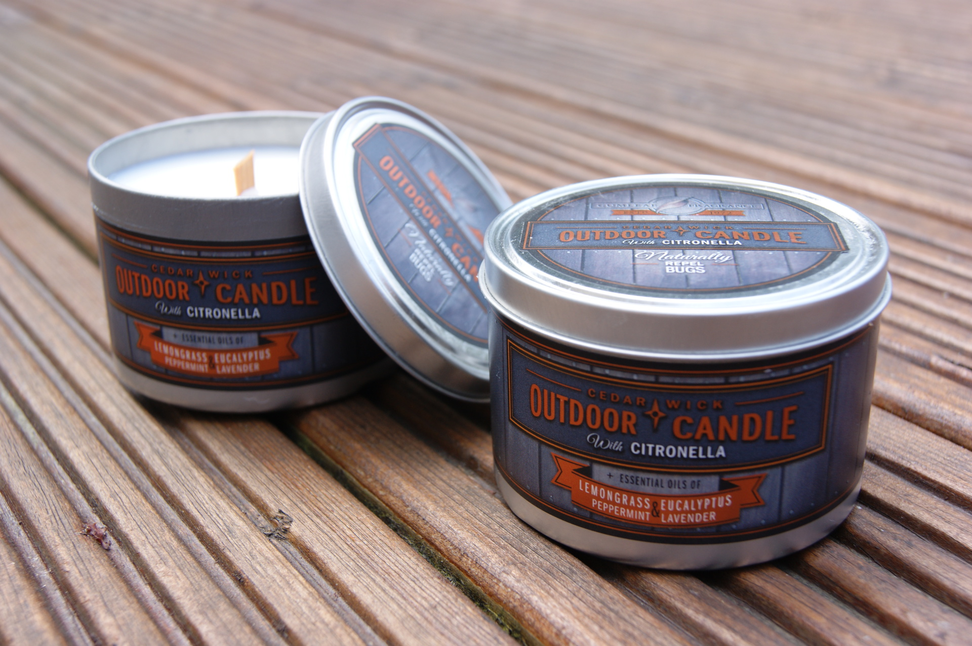 Buckley & Philips - Outdoor Candles