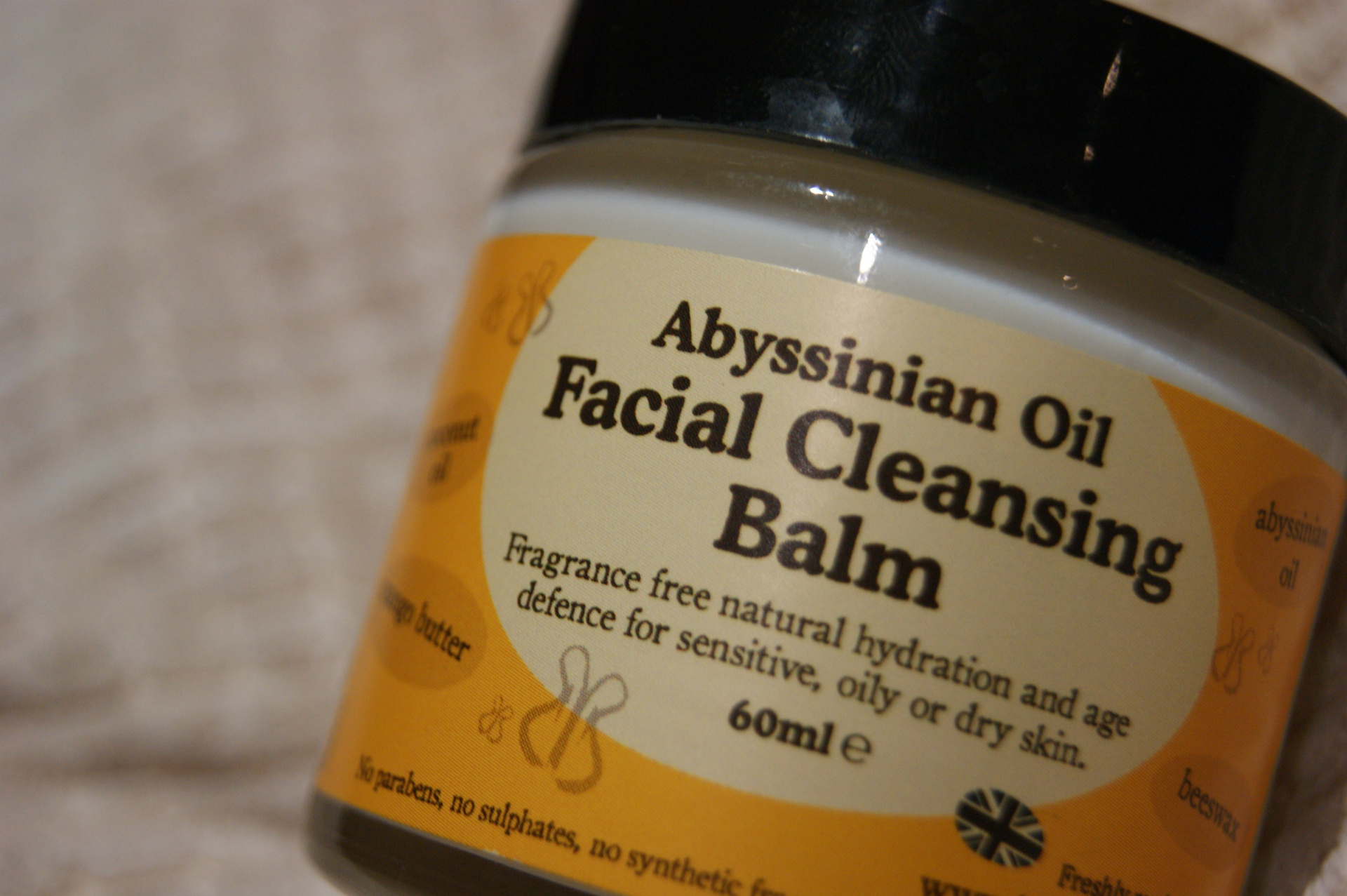 Beauty Kitchen - Abyssinian Oil Facial Cleansing Balm