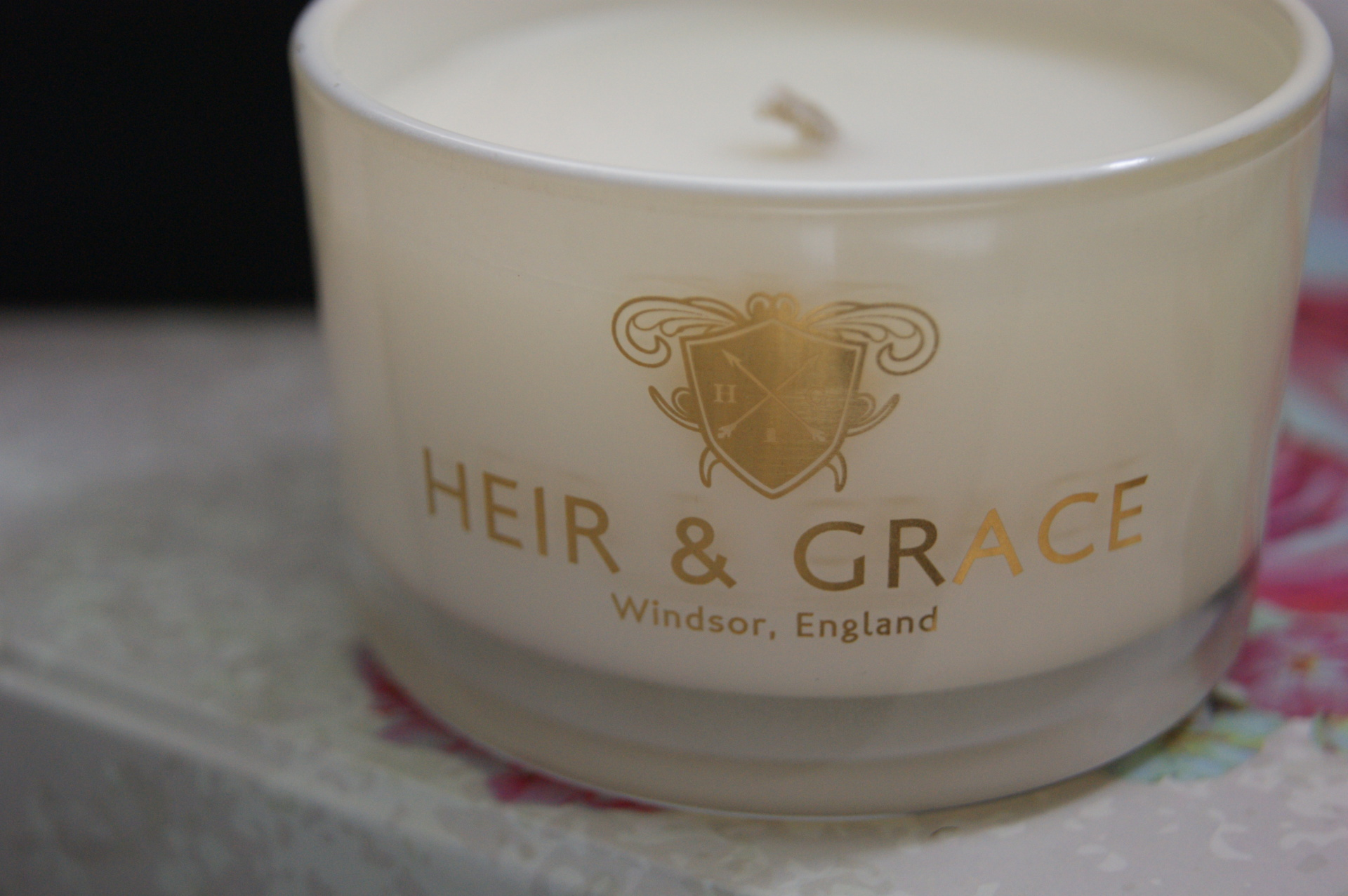 Heir & Grace - Orange & Chilli Candle