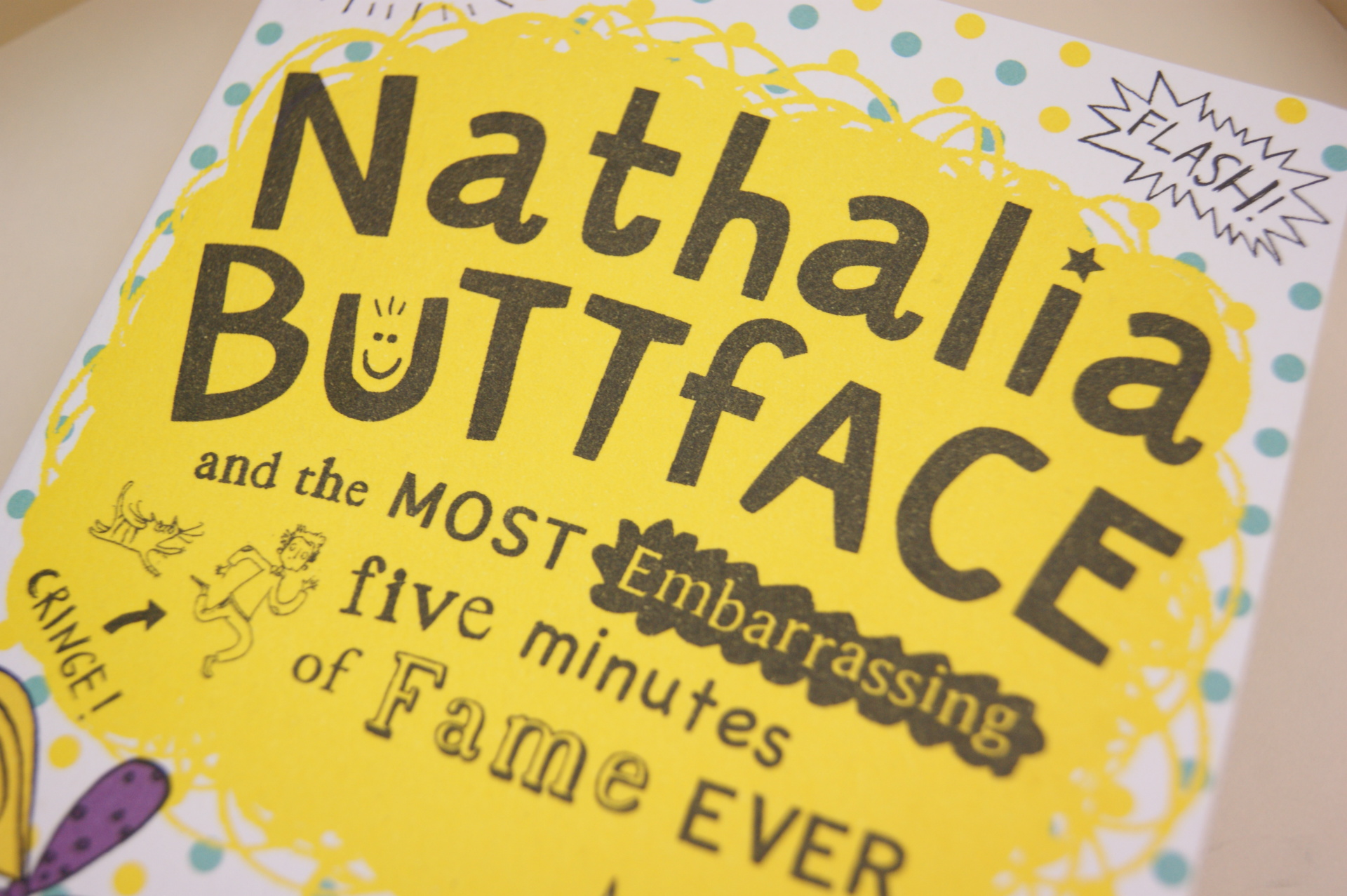 Nathalia Buttface by Nigel Smith - Book Review