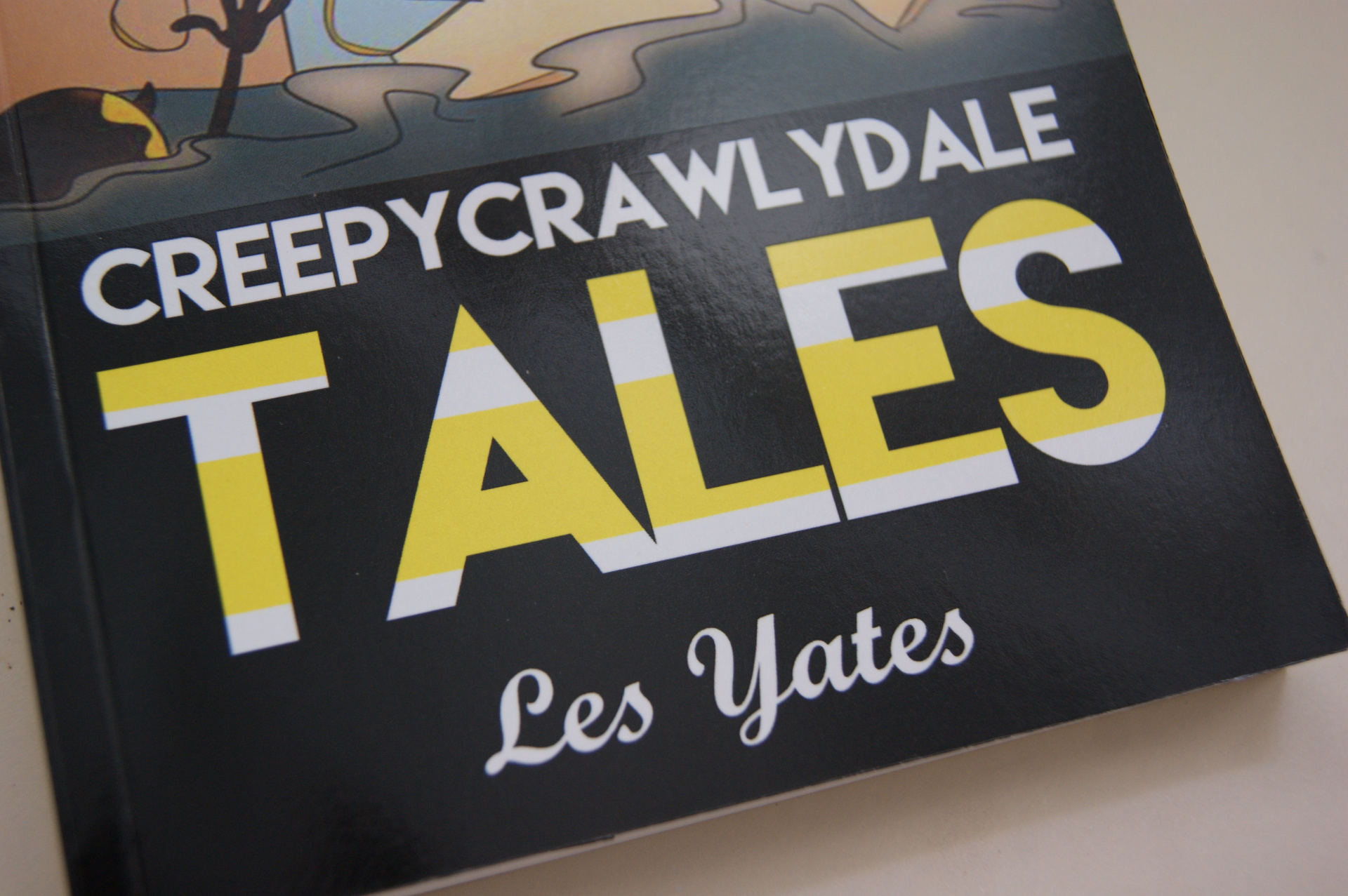 Les Yates - CreepyCrawlyDale Tales - Book Review