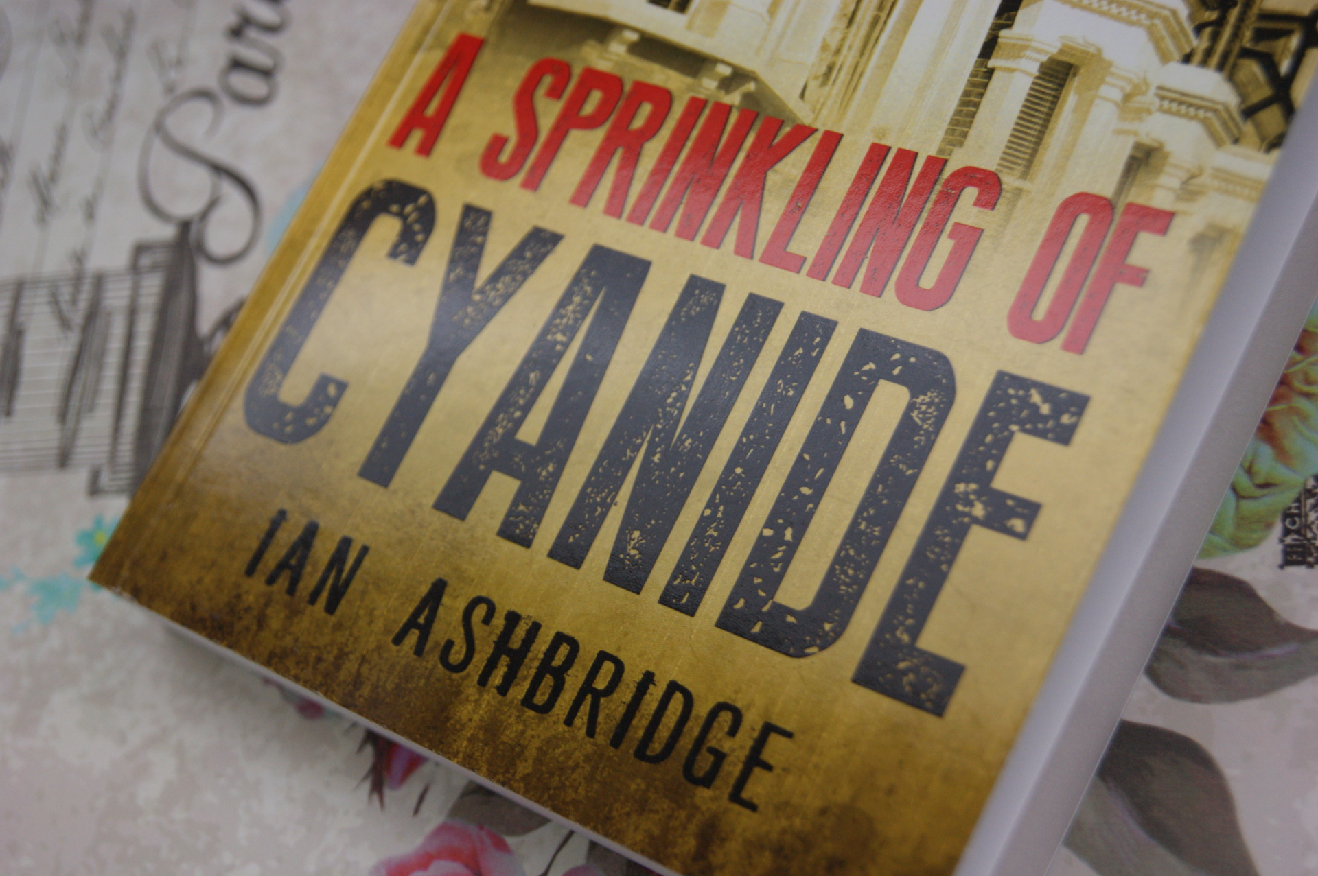 A Sprinkling of Cyanide - Book Review