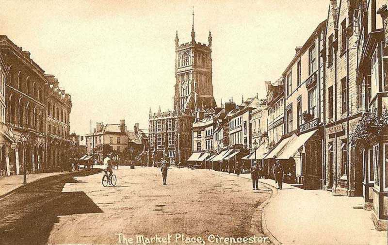 The Sleepy Town of Cirencester