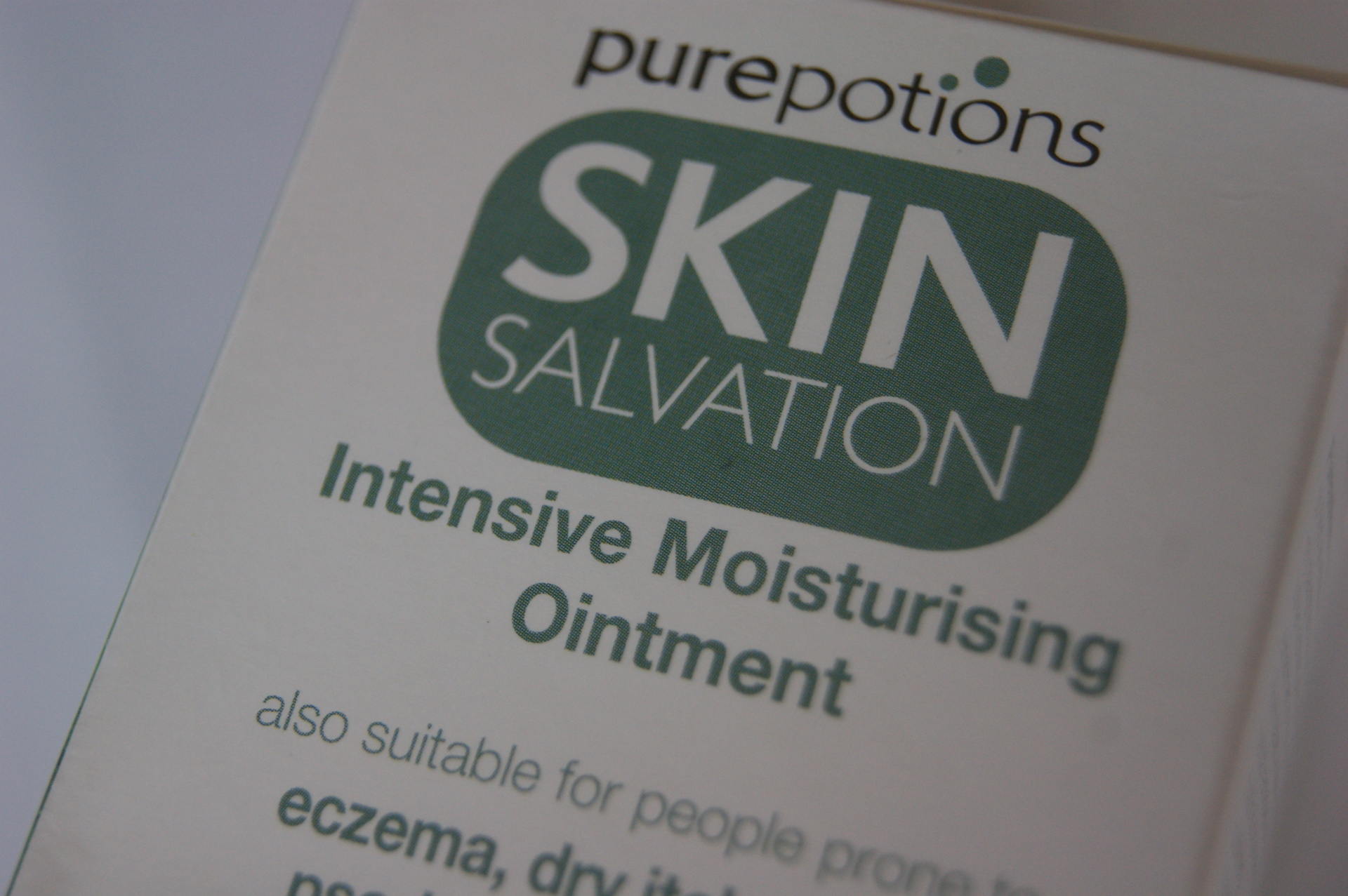 Pure Potions - Intensive Moisturising Ointment
