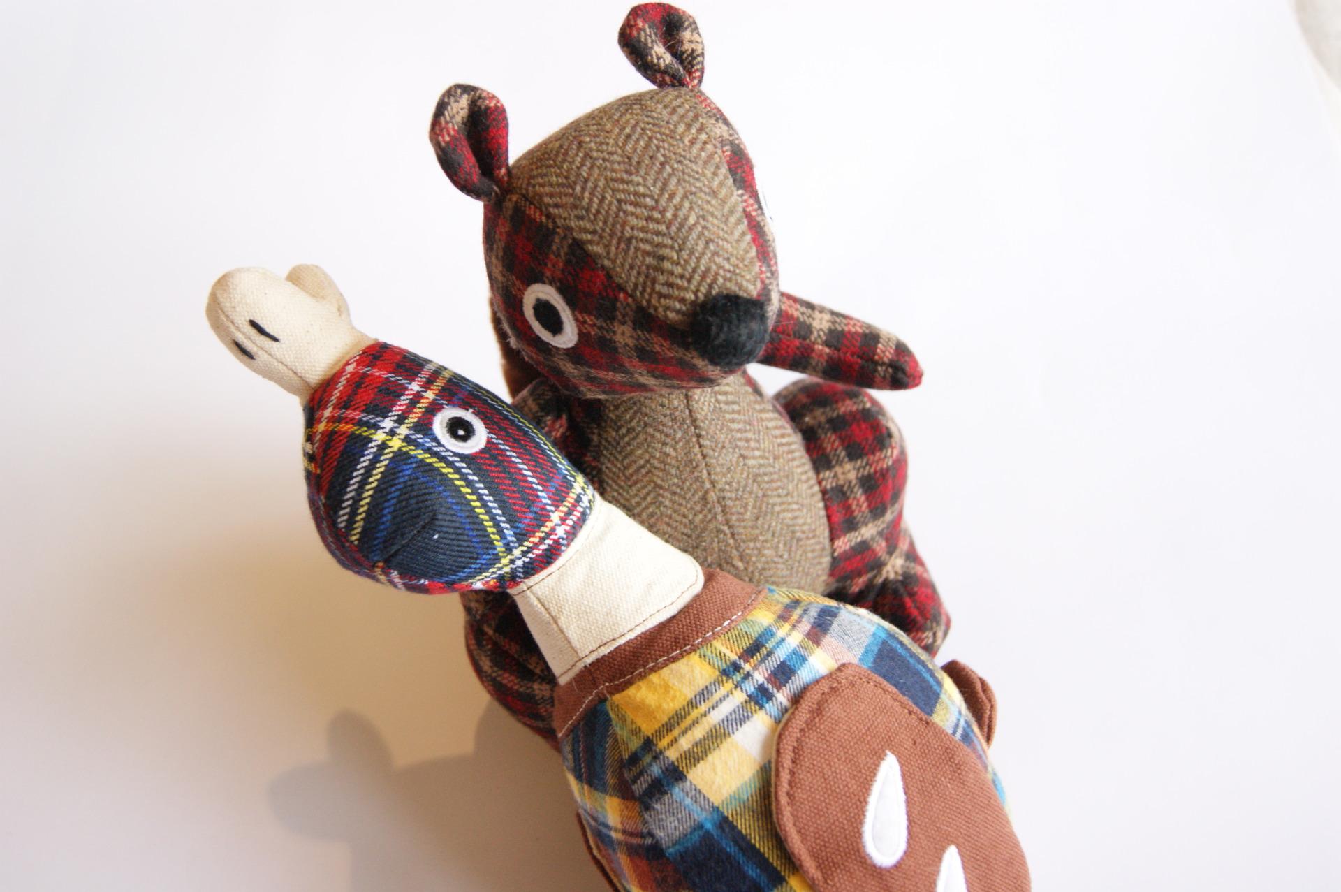 Pet London - Tweed Dog Toys