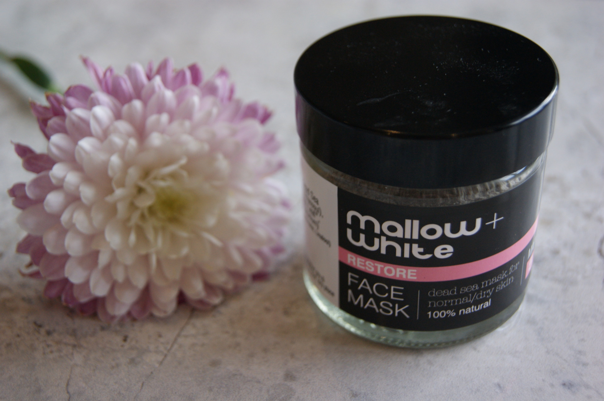 Mallow & White - Face Mask