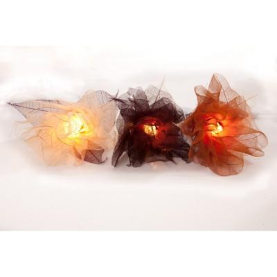 Zhambala - Autumn Mix Carnations Fairy Lights