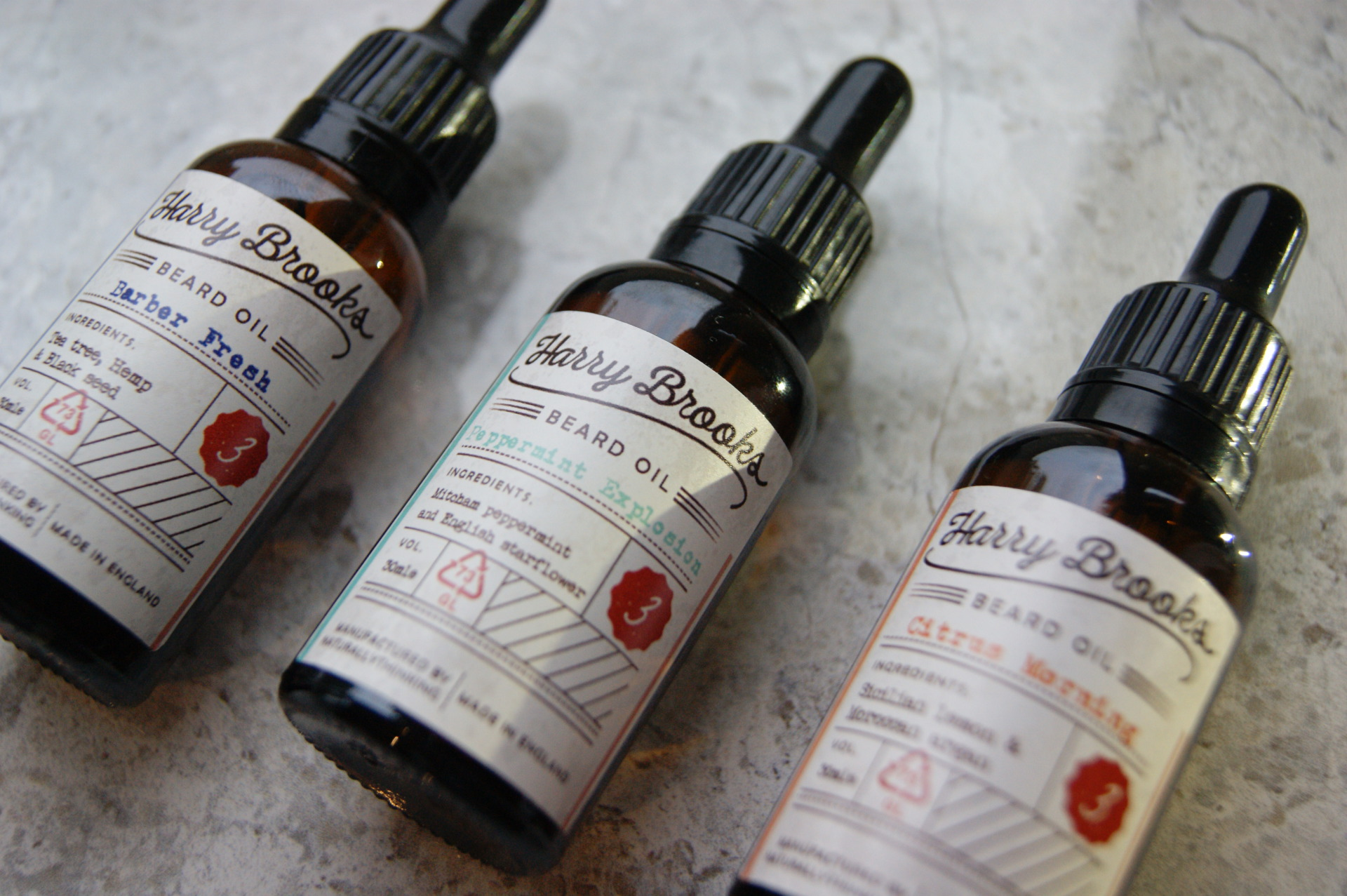 Naturally Thinking - Beard Oils