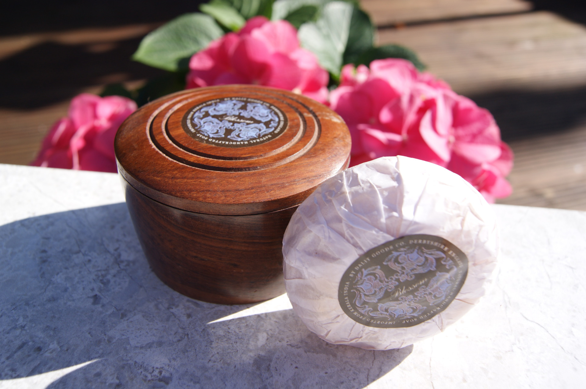 Dalit Goods - Blossom Scented Soap in a Rosewood Box
