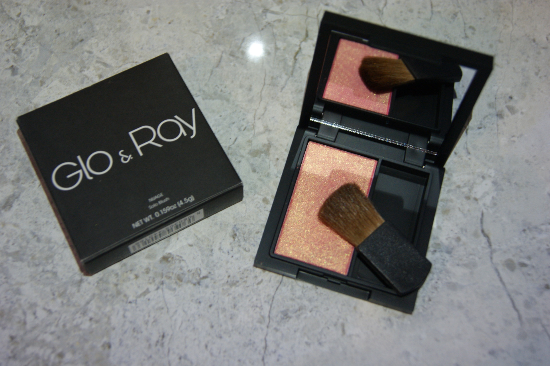 Glo & Ray - Nuage Blush - Halo Pink 500
