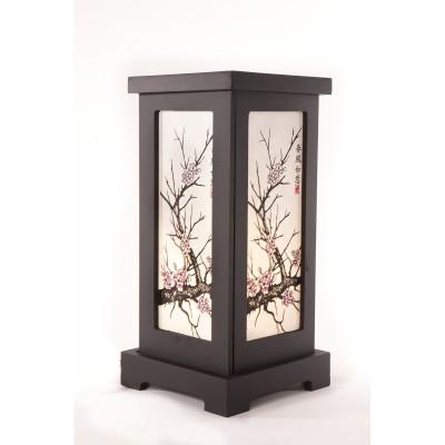 Zhambala - Pink Blossom Screen Lamp