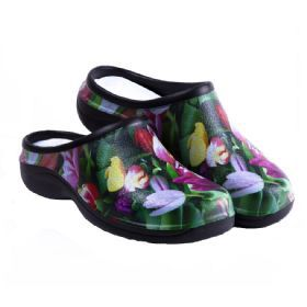 Back Door Shoes - Tulip Design
