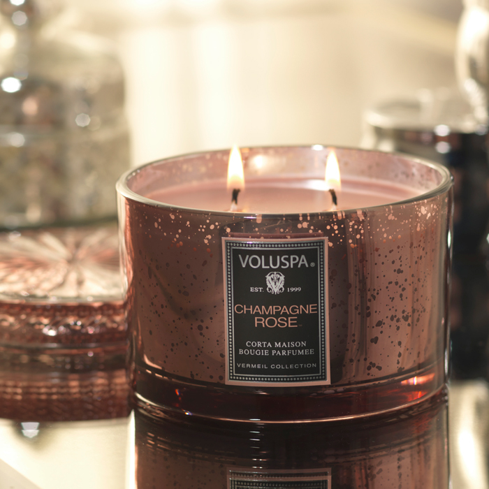 Voluspa Candles - Champagne Rose
