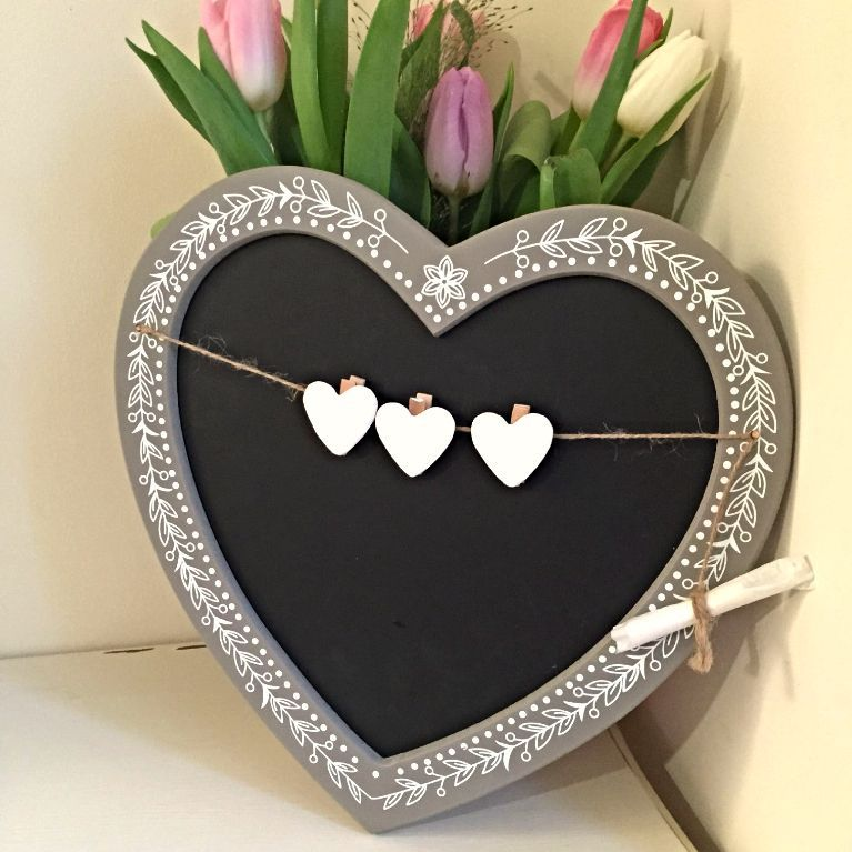 Hearts & Home - Vintage Chalk Board