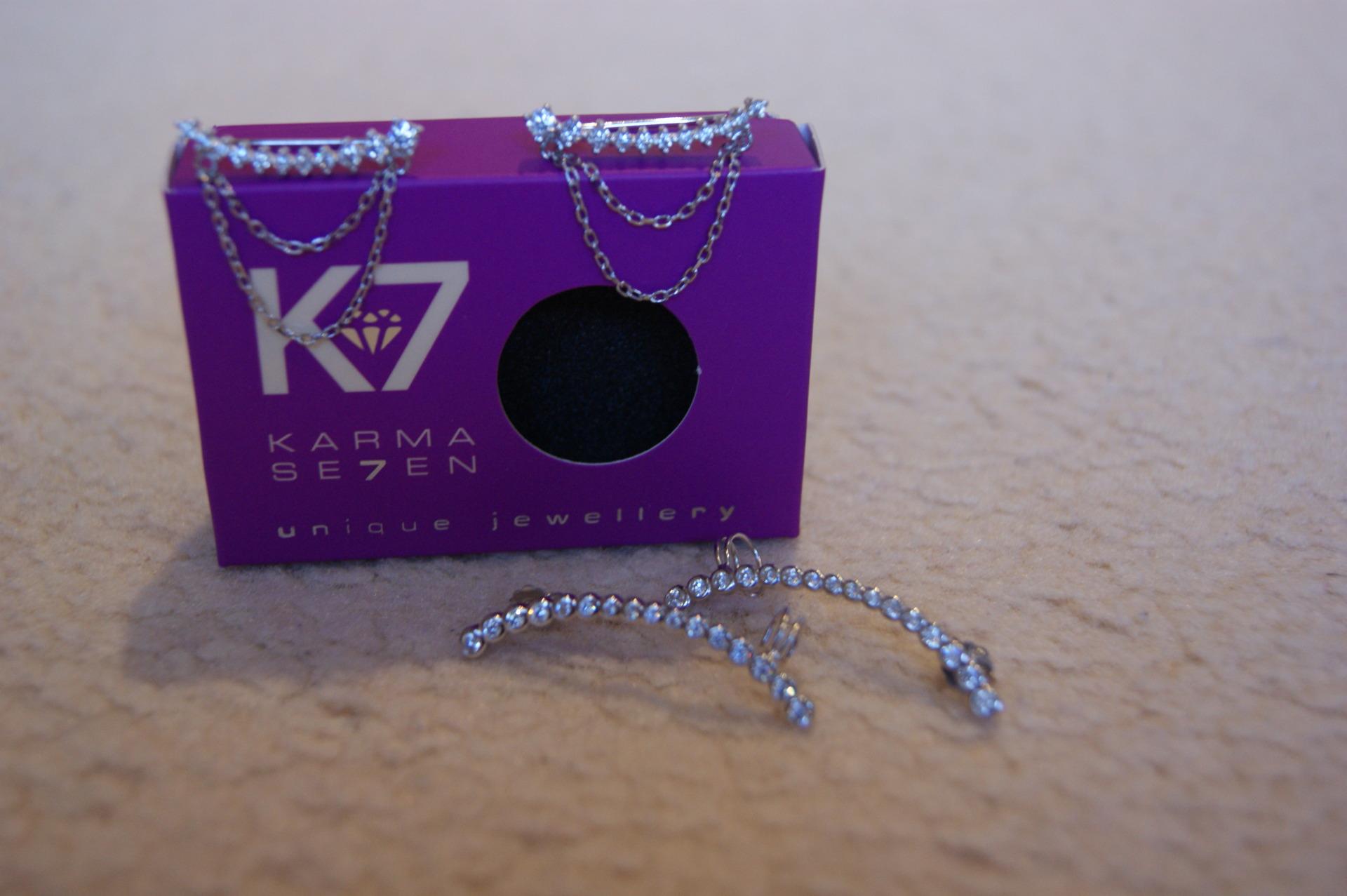 Karma Se7en - Climber Earrings
