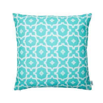 Penelope Hope - Taha'a Blue Cotton Cushion