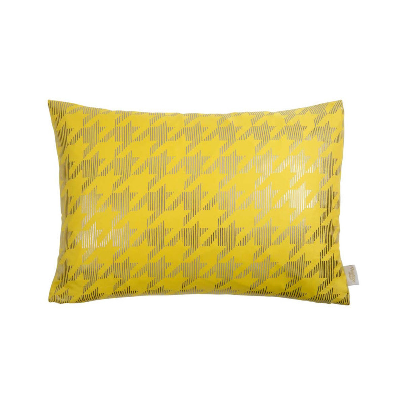 Penelope Hope - Yellow & Gunmetal Cushion