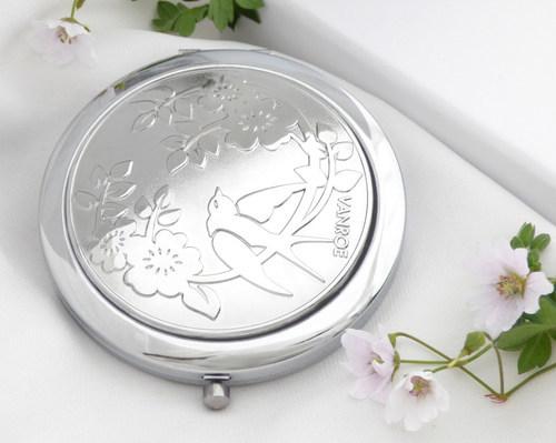Vanroe - Rose & Swallow Compact Mirror