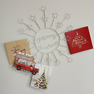 Melody Maison - Merry Christmas Starburst Card Holder