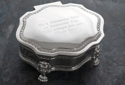 Getting Personal - Personalised Jewellery box