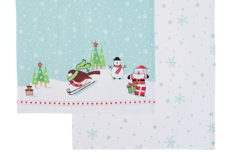 Kitchen Craft - Christmas Tea Towels