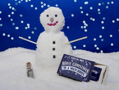 In A Match Box – Make Your Own Snow Christmas
