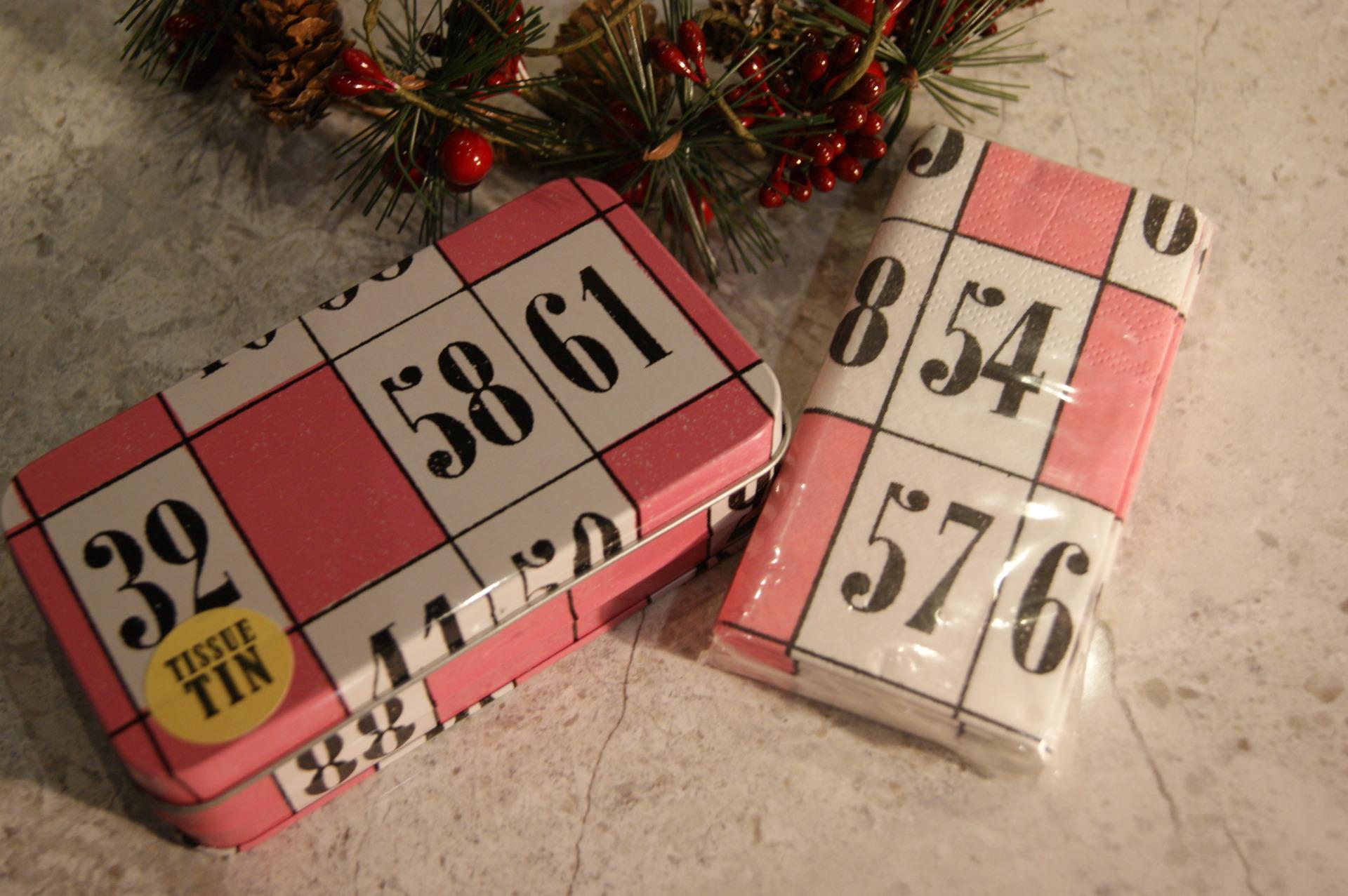 Really Good UK – Bingo Tissue Tin