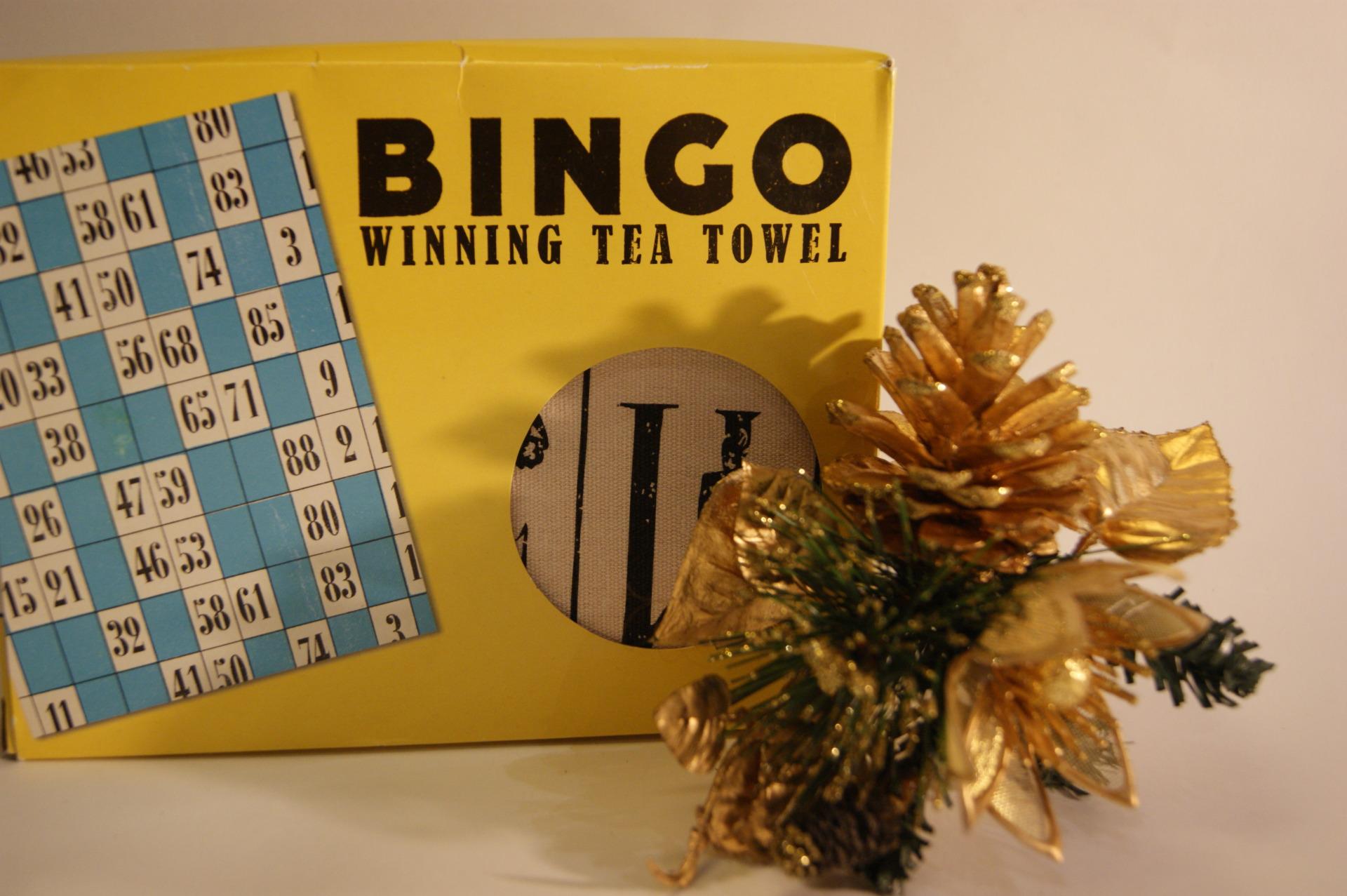 Really Good UK - Bingo Tea Towel