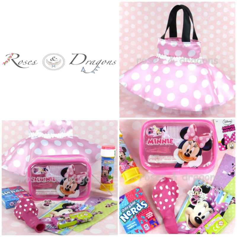 Roses & Dragons - Minnie Mouse Party Bags