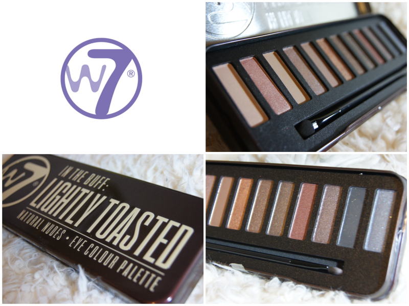 W7 - Lightly Toasted Natural Eyeshadow Palette