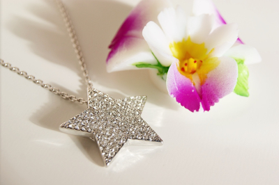 Hazel + Kent - Cubic Zirconia Star Necklace