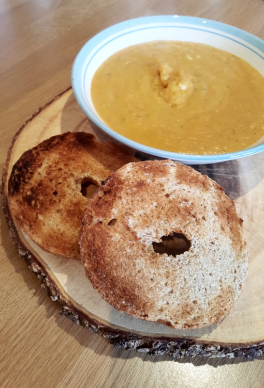 Red Lentil & Sweet Potato Soup Recipe