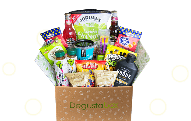 Degustabox - Monthly Food Box Subscription