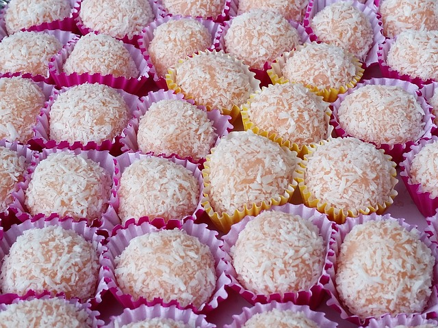 Homemade Coconut Snack Balls