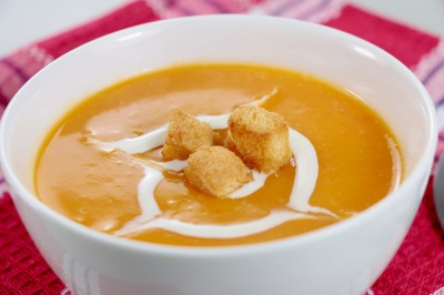 Homemade Pumpkin Soup Recipe