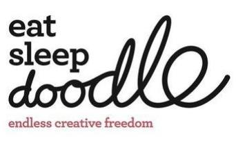Eat Sleep Doodle Banner
