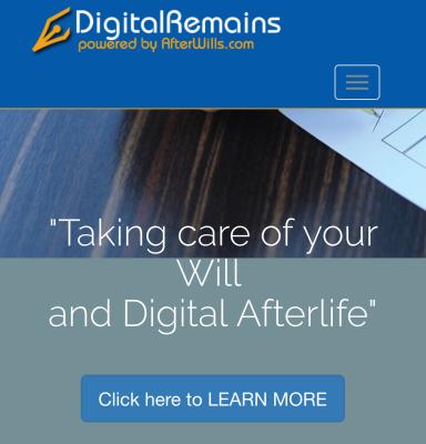 Digital Remains Banner