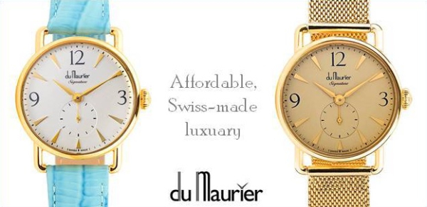 Du Maurier Watches Banner