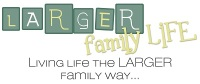 Larger Family Life Blog Banner